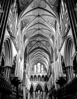 """Majestic Nave Salisbury Cathedral"" by Brad Short 2nd Place"