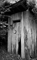 """THe Washhouse Outhouse"" by Brad Short 3rd Place"