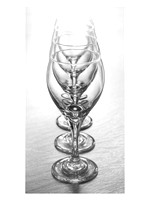 """Wine Glasses 3x"" by Donna Long"